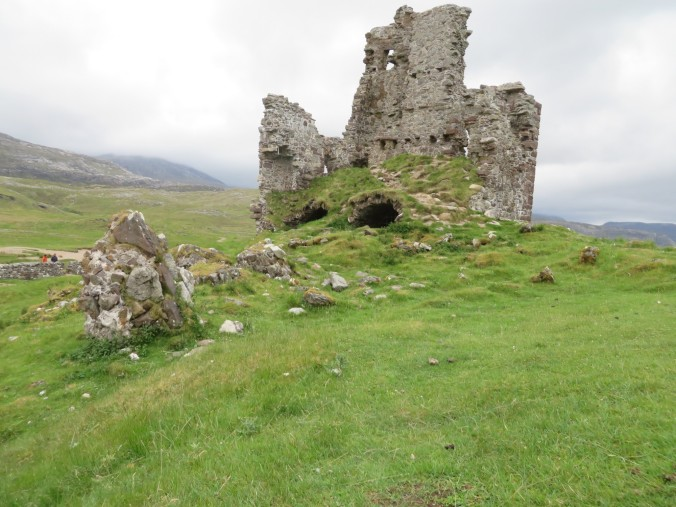 The spooky ruins of Castle Ardvreck.