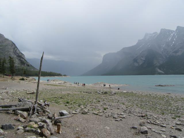 summer hike 4 lake minnewanka banff national park. Black Bedroom Furniture Sets. Home Design Ideas